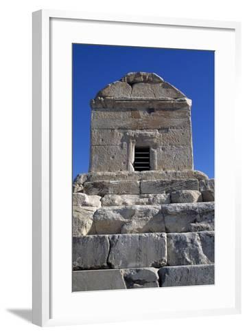 Tomb of Cyrus Great, Pasargad--Framed Art Print