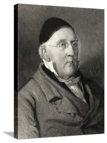 Portrait of Louis Ludwig Spohr--Stretched Canvas Print