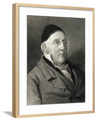 Portrait of Louis Ludwig Spohr--Framed Art Print