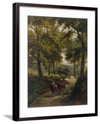 The Timber Wagon-Henry Earp-Framed Art Print