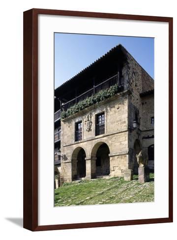 Aguila House--Framed Art Print