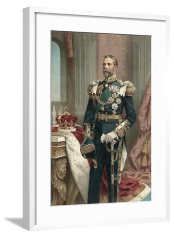 King George V--Framed Art Print