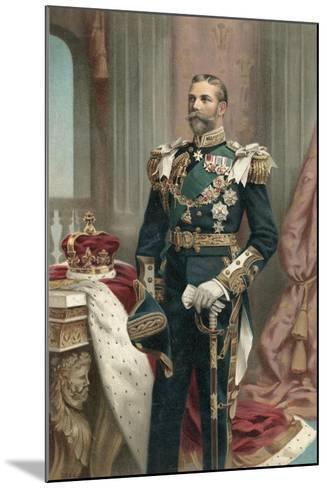 King George V--Mounted Giclee Print