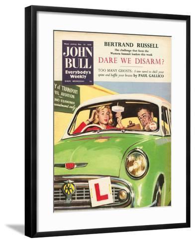 Front Cover of 'John Bull', December 1959--Framed Art Print