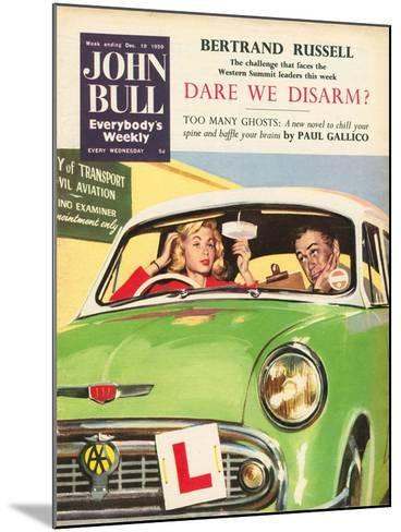 Front Cover of 'John Bull', December 1959--Mounted Giclee Print