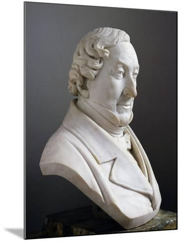 Marble Bust of Gioachino Rossini--Mounted Giclee Print