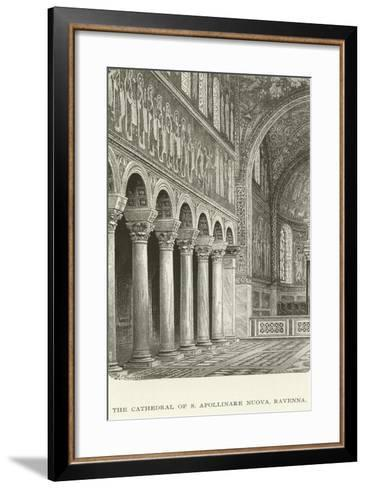 The Cathedral of S Apollinare Nuova, Ravenna--Framed Art Print