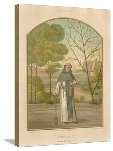 Saint Fiacre--Stretched Canvas Print