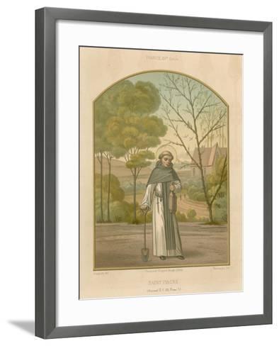 Saint Fiacre--Framed Art Print
