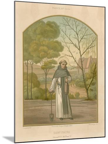 Saint Fiacre--Mounted Giclee Print