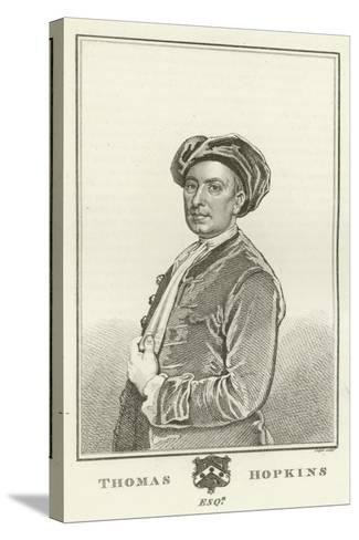 Thomas Hopkins, Esquire-Godfrey Kneller-Stretched Canvas Print