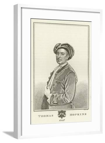 Thomas Hopkins, Esquire-Godfrey Kneller-Framed Art Print