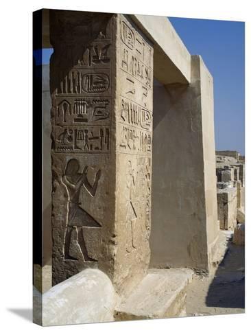 Mastaba of Unis Dignitary, Saqqara--Stretched Canvas Print