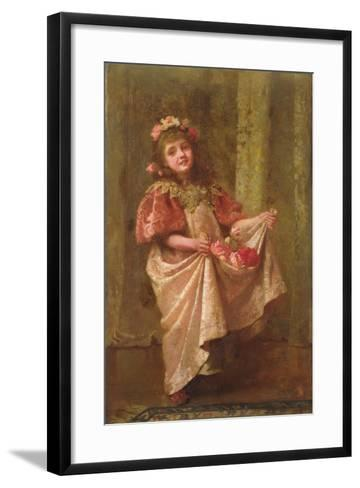 A Present of Roses-Hariette Sutcliffe-Framed Art Print