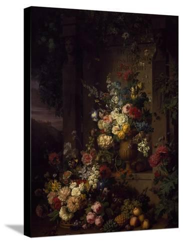 Julia's Tomb, 1804-Jan Frans van Dael-Stretched Canvas Print