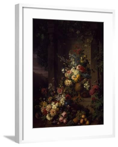 Julia's Tomb, 1804-Jan Frans van Dael-Framed Art Print