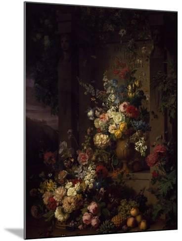 Julia's Tomb, 1804-Jan Frans van Dael-Mounted Giclee Print