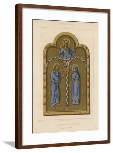 The Angelic Salutation--Framed Art Print