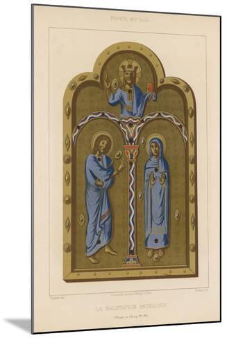 The Angelic Salutation--Mounted Giclee Print
