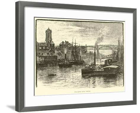 The High Level Bridge--Framed Art Print