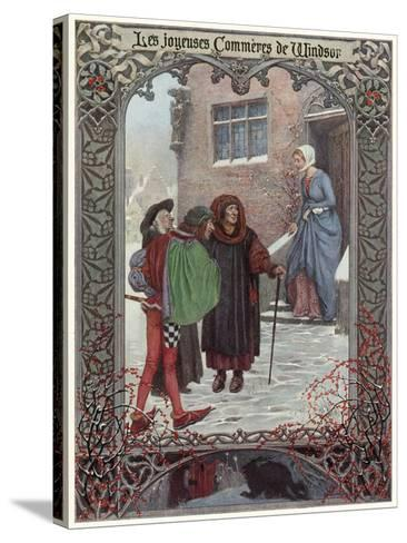 The Merry Wives of Windsor--Stretched Canvas Print