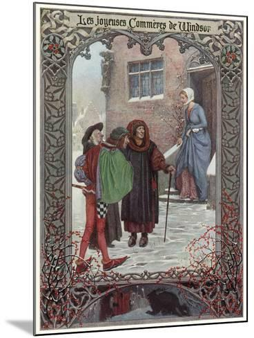 The Merry Wives of Windsor--Mounted Giclee Print