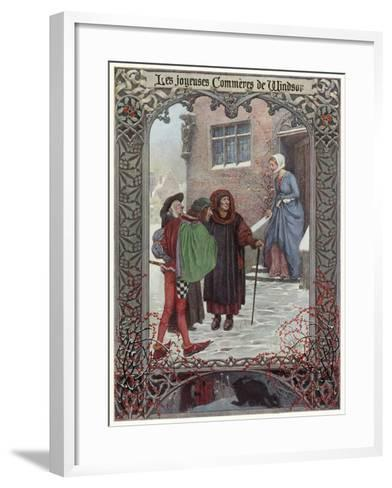 The Merry Wives of Windsor--Framed Art Print