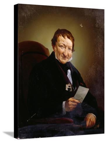 Portrait of Heinrich Mylius--Stretched Canvas Print