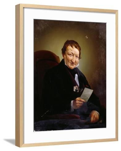 Portrait of Heinrich Mylius--Framed Art Print