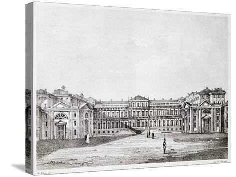 Royal Villa in Monza-Giuseppe Elena-Stretched Canvas Print