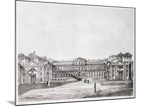 Royal Villa in Monza-Giuseppe Elena-Mounted Giclee Print