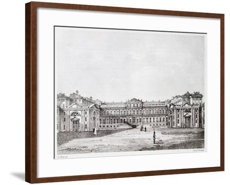 Royal Villa in Monza-Giuseppe Elena-Framed Art Print