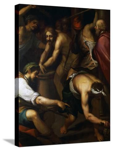 The Scourging-Giovanni Battista Paggi-Stretched Canvas Print