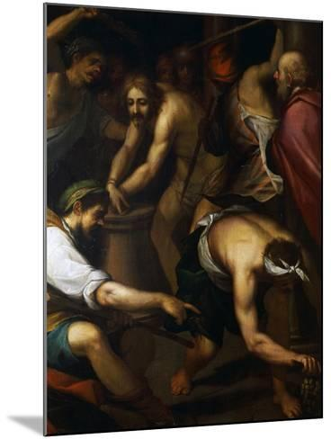 The Scourging-Giovanni Battista Paggi-Mounted Giclee Print
