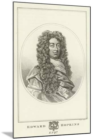 Edward Hopkins, Esquire-Godfrey Kneller-Mounted Giclee Print