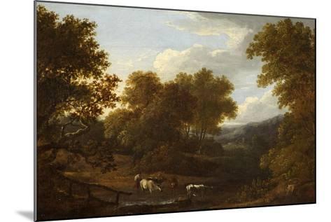 View of Weston Church and Lansdown-Benjamin Barker-Mounted Giclee Print