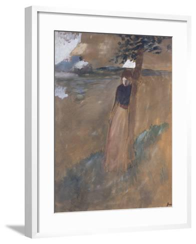 L'Abandonnee, C.1884-Jean Louis Forain-Framed Art Print