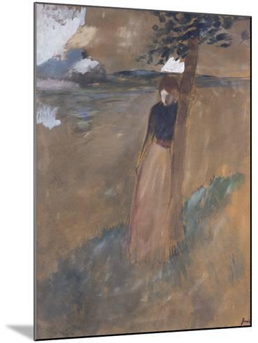 L'Abandonnee, C.1884-Jean Louis Forain-Mounted Giclee Print