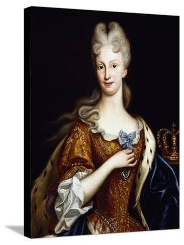 Portrait of Elisabeth Farnese--Stretched Canvas Print