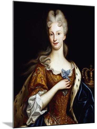 Portrait of Elisabeth Farnese--Mounted Giclee Print