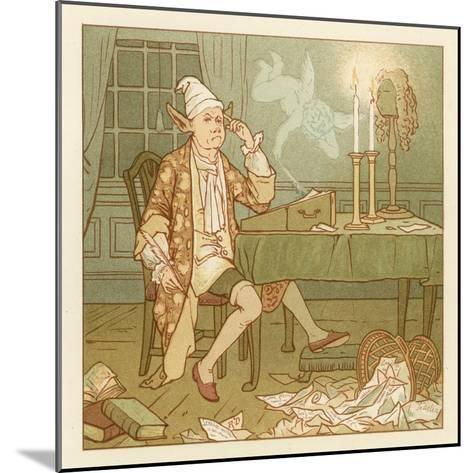 Depiction of the Month of February-Robert Dudley-Mounted Giclee Print