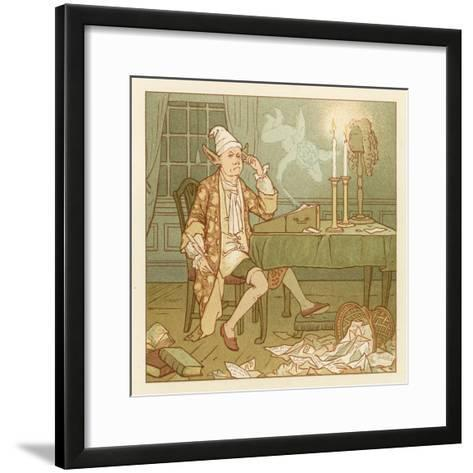 Depiction of the Month of February-Robert Dudley-Framed Art Print
