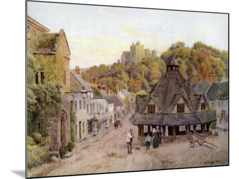 Dunster, Somerset-Alfred Robert Quinton-Mounted Giclee Print