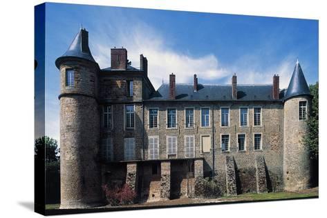 Nangis Castle--Stretched Canvas Print