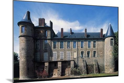 Nangis Castle--Mounted Giclee Print