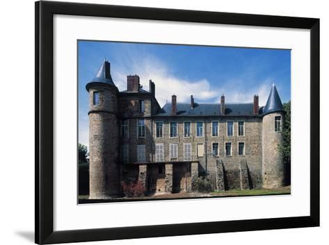 Nangis Castle--Framed Art Print