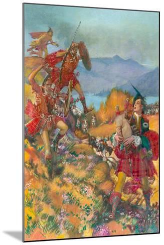 Childe Harold's Pilgrimage-John Millar Watt-Mounted Giclee Print