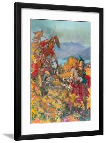 Childe Harold's Pilgrimage-John Millar Watt-Framed Art Print