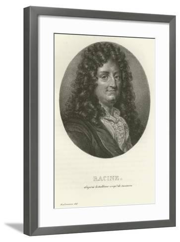 Racine--Framed Art Print