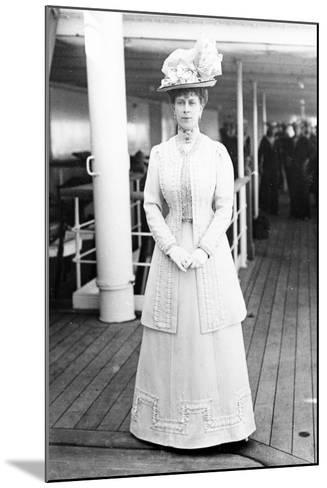 Queen Mary on Board the H.M.S. Medina, 1911--Mounted Photographic Print